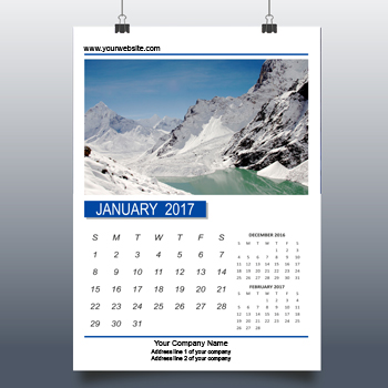 Wall Calendars printing in india