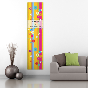 Personalised Kids Growth Chart in India