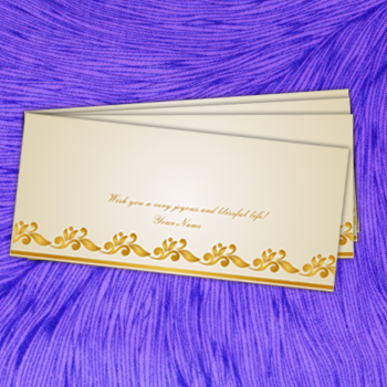 Designer Multicoloured Shagun Envelopes Printing in India